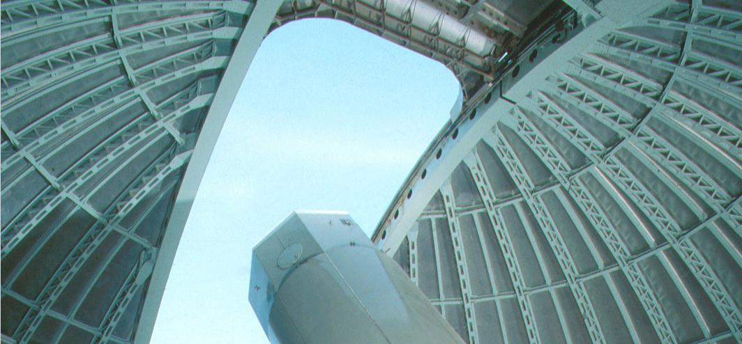 Le télescope de l'Observatoire de Haute-Provence qui a permis la découverte de l'exoplanète Gl411b. ©CNRS/OHP