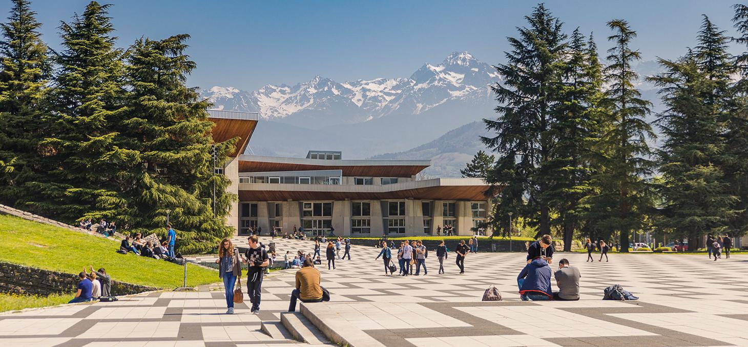 vue depuis le campus grenoblois ©PierreJayet