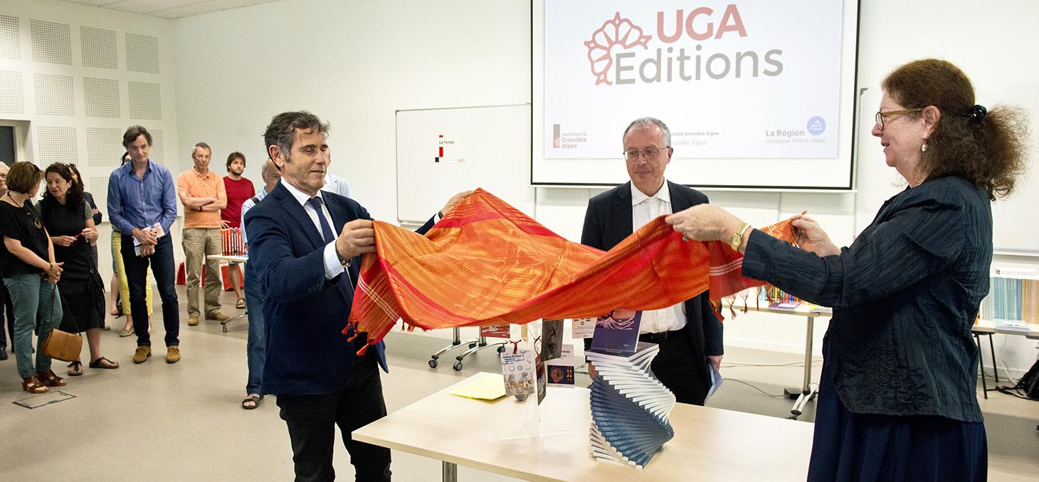 Cérémonie de lancement UGA Éditions