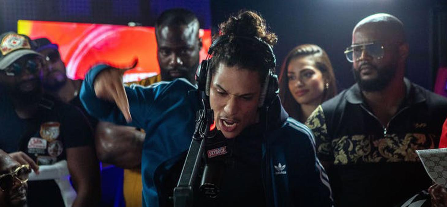 Comment faire sa place au sein du rap game ? C'est l'un des thèmes abordés dans cette nouvelle série. © Canal+
