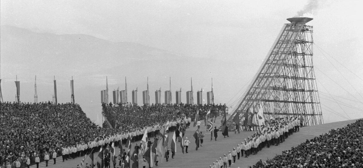 Cérémonie d'ouverture des Jeux Olympiques de 1968 ©AMMG
