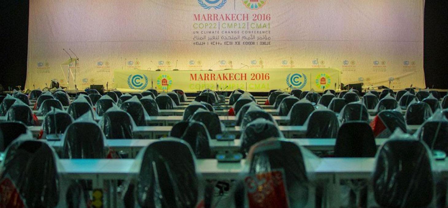 Au village de Bab Ighli, à Marrakech, où seront accueillis les acteurs de la COP22 © COP22